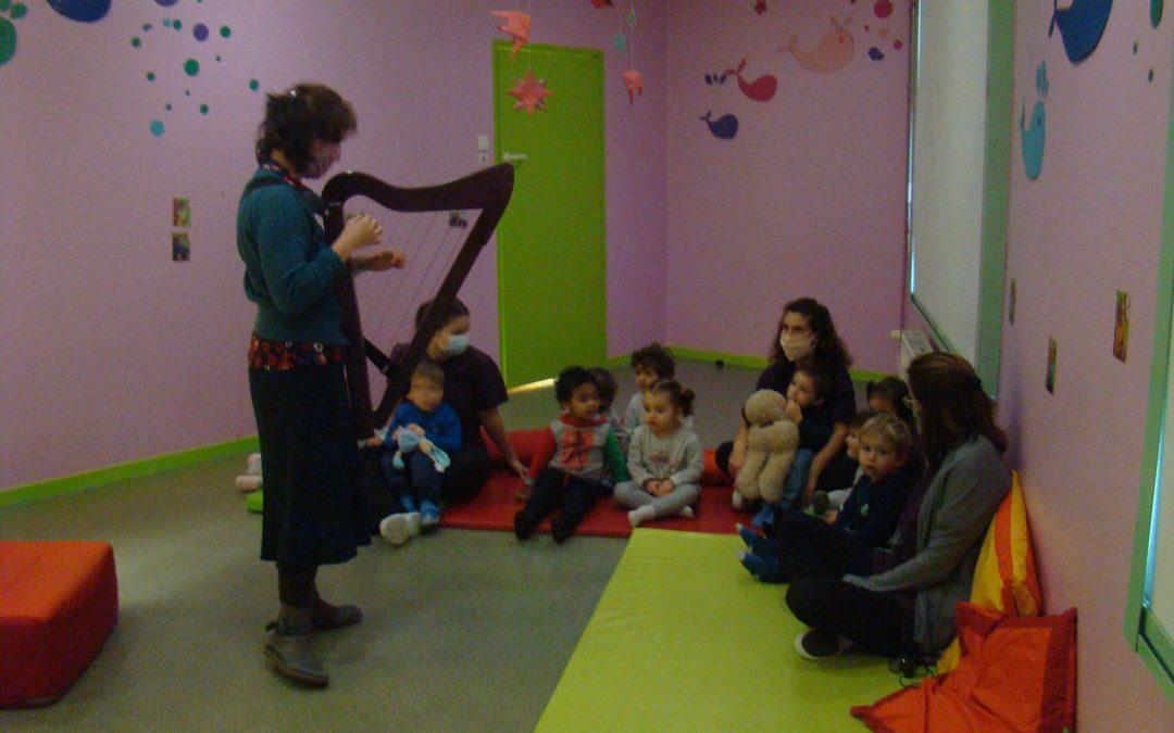 Mots et Sens : Atelier musical et sensoriel des touts petits (Musique des émotions)