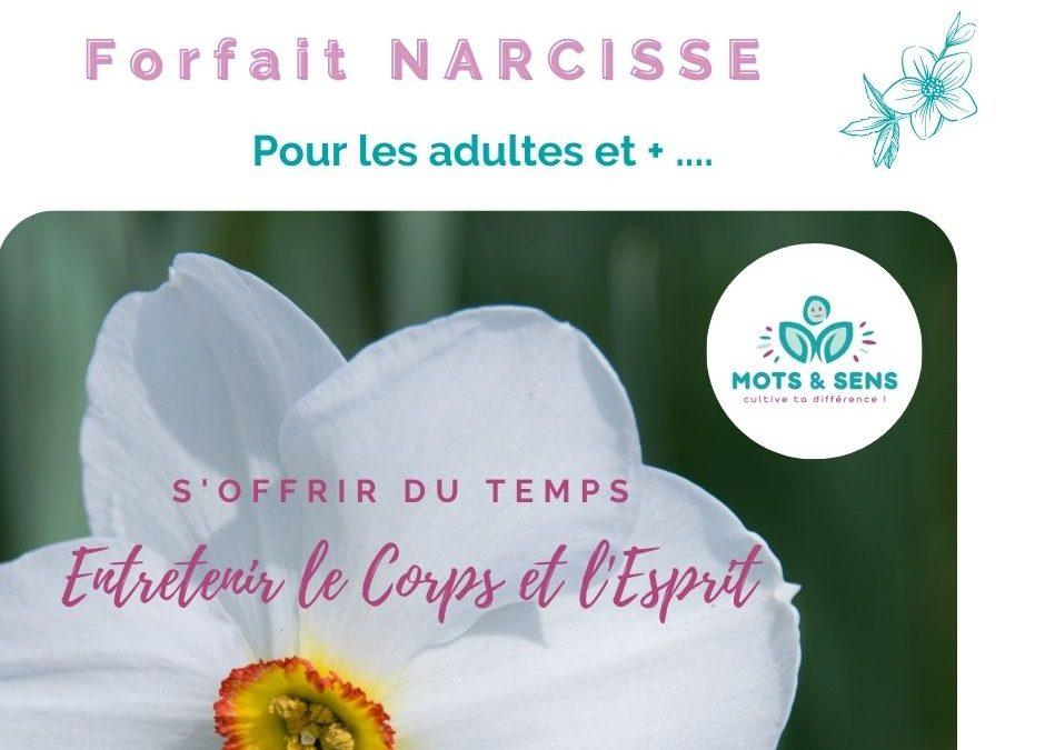 Mots et Sens – Forfait NARCISSE – Comment vous épanouir en étant vous-même ?